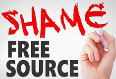 Shame Free Source Training